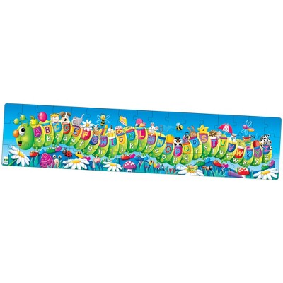 The Learning Journey Long and Tall Puzzles ABC Caterpillar 51 pcs