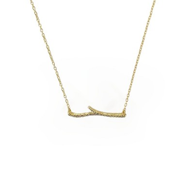 Sanctuary Project Dainty Branch Necklace Gold