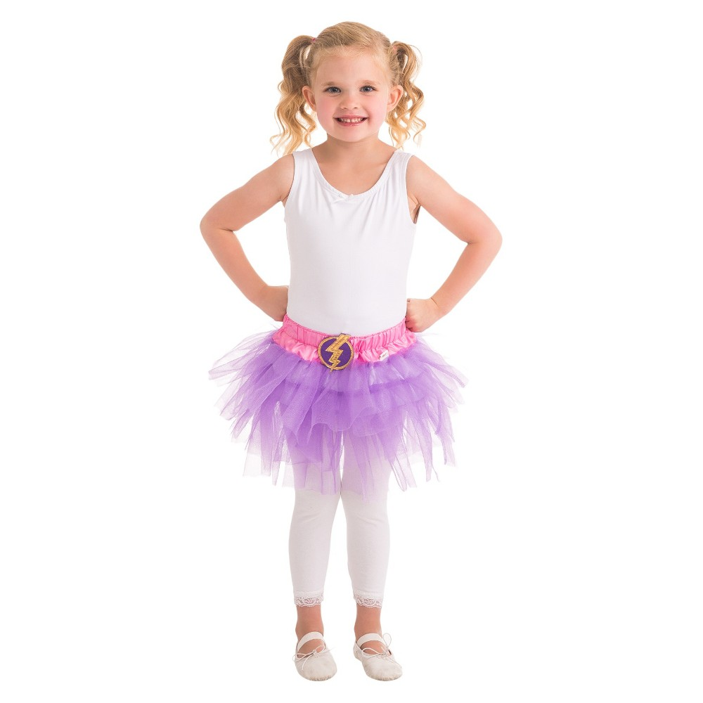 Little Adventures Hero Tutu Lightning Bolt, Purple