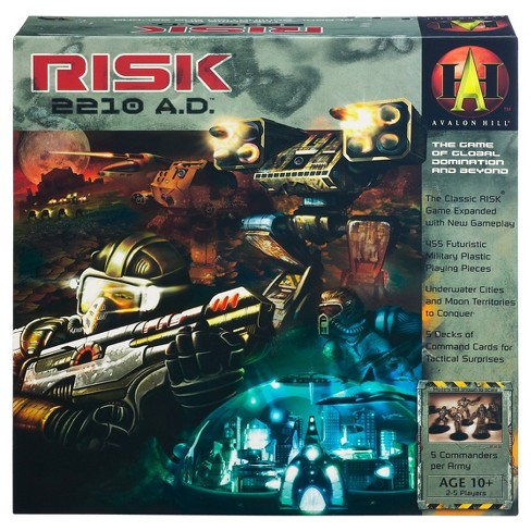 Avalon Hill Risk 2210 Ad Game Target