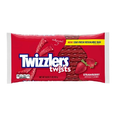 Twizzlers Strawberry Flavored Twists - 16oz