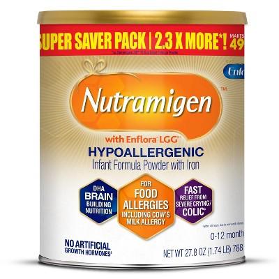 Enfamil Nutramigen with Enflora LGG Hypoallergenic Formula Powder - 27.8oz