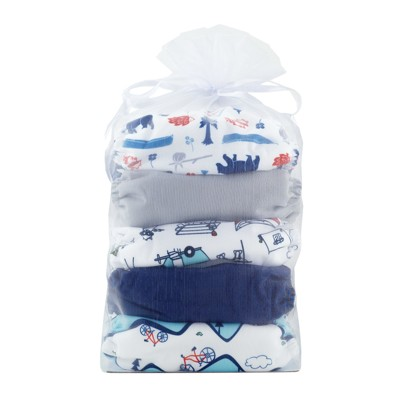 Thirsties All-in-One Snap Outdoor Adventure Diaper Collection, One Size - Adventure Trail