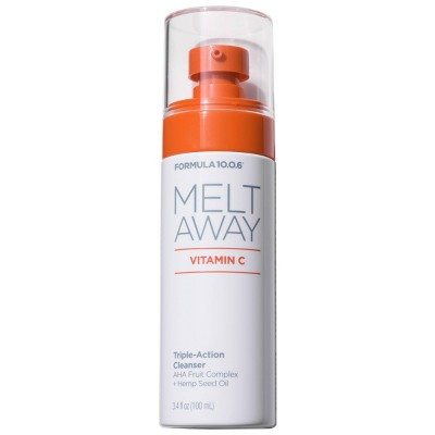 Formula 10.0.6 Melt Away Vitamin C Triple-Action Cleanser - 3.4 fl oz