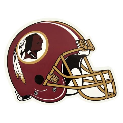 NFL Washington Redskins Large Outdoor Helmet Decal - image 1 of 1