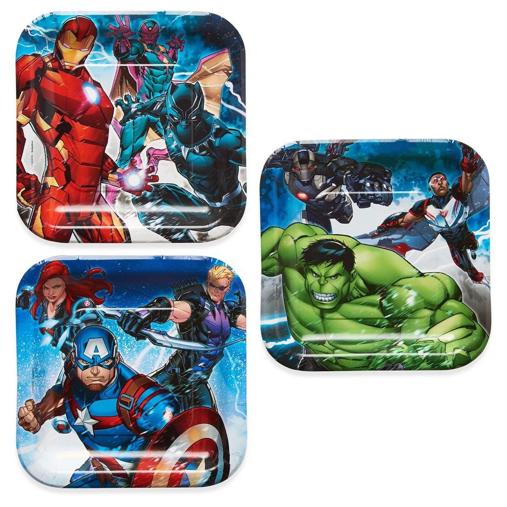 Avengers 7 Paper Plates - 8ct