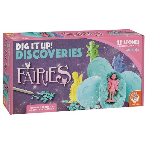 MindWare Dig It Up! Discovery Fairies With Explorer Vest - Science and Nature - 2 Pieces - image 1 of 4