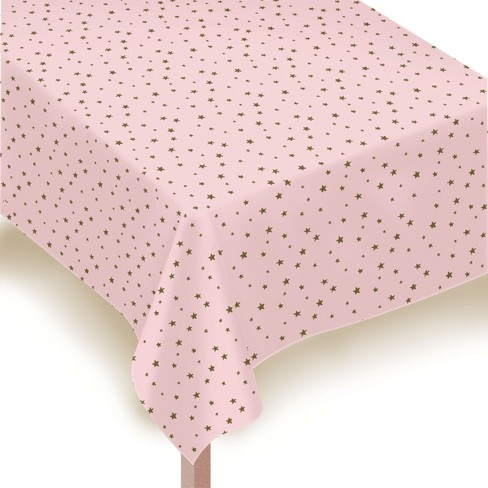 Star Golden Print Tablecover - Spritz™ - image 1 of 2
