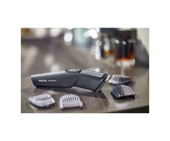 Philips Norelco Series 1000 Beard & Hair Men's Rechargeable Electric Trimmer - BT1217/70