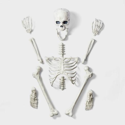 13ct Bag of Skeleton Bones Halloween Decorative Prop - Hyde & EEK! Boutique™ - image 1 of 2