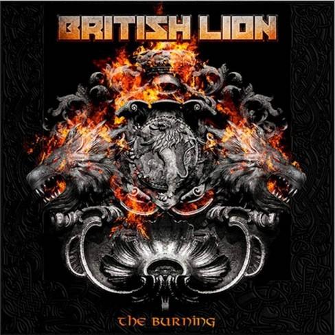 British Lion - Burning (CD) - image 1 of 1