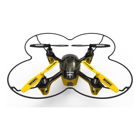 WebRC™ XDrone™ Spy Quadcopter - Yellow (5.5 inches) - image 1 of 6