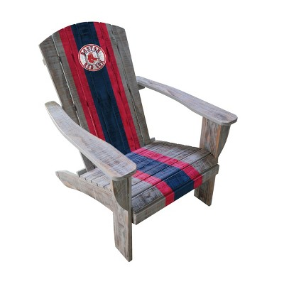 MLB Boston Red Sox Wooden Adirondack Chair