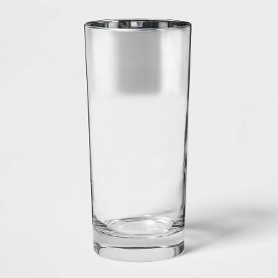 15.8oz Glass Tall Tumbler Metallic - Project 62™