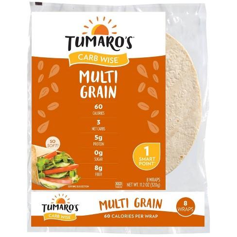 "Tumaro's 8"" Low Carb Multi Grain Tortillas - 11.2oz/8ct - image 1 of 4"