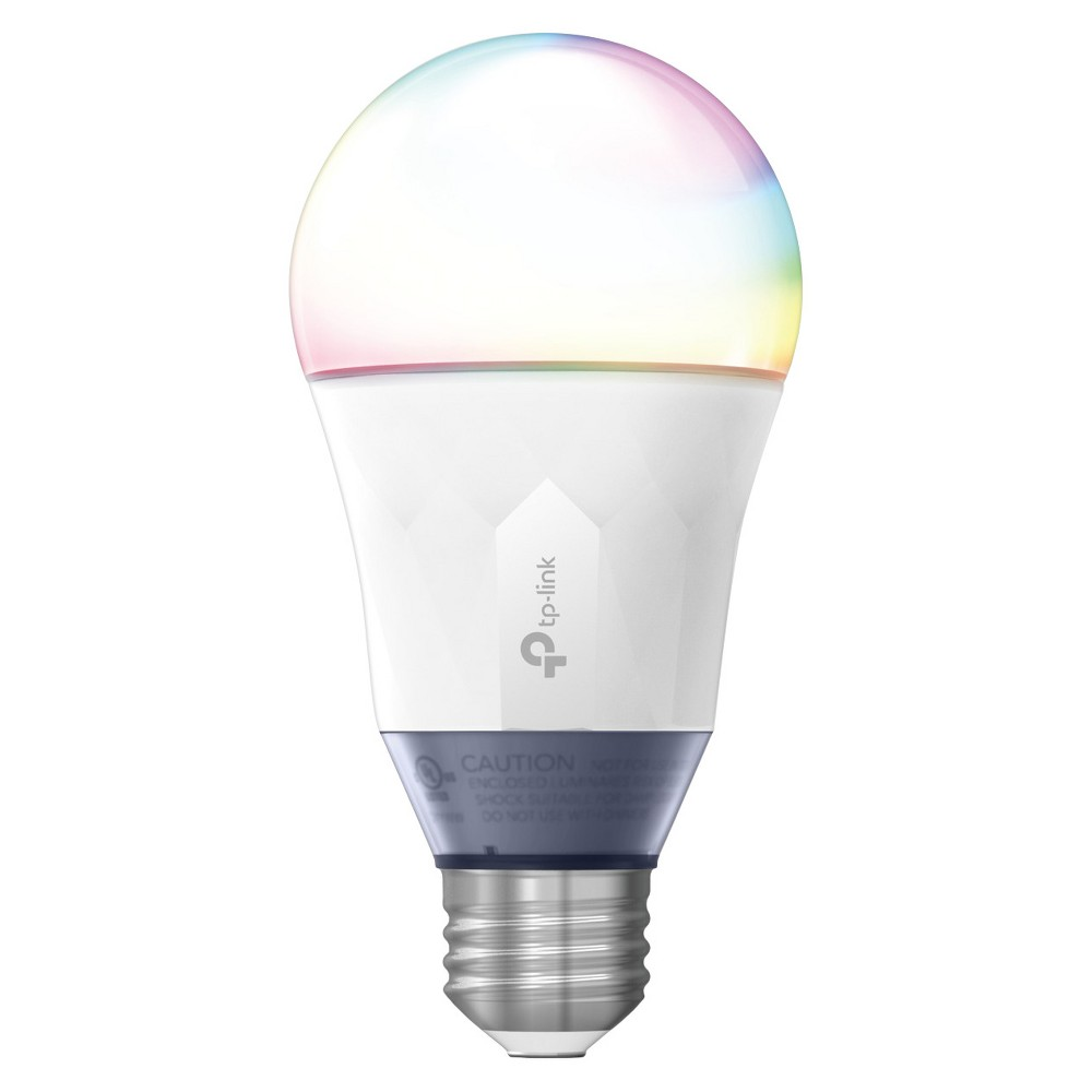 TP-Link - 60W Smart Wi-Fi Led Bulb with Tunable White and Color No Hub Required