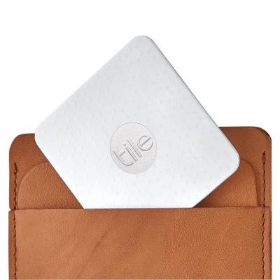 Tile Slim Phone Finder with Wallet Finder and Item Finder 1-Pack - White (RT-03001-N)