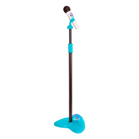 B. toys Microphone, Stand & Light-Up Base - Mic it Shine - image 1 of 4