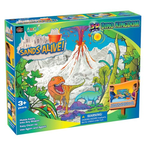 Play Visions Sands Alive! 3D Dino Kingdom Set - image 1 of 2