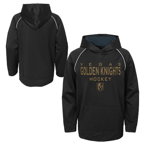 0f8cbda6e6f NHL Vegas Golden Knights Boys' Shorthand Poly Embossed Hoodie : Target