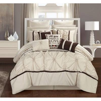 Legaspi 16Pc Bed in a Bag Comforter Set