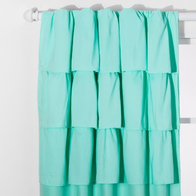 Ruffle Blackout Curtain Panel - Pillowfort™