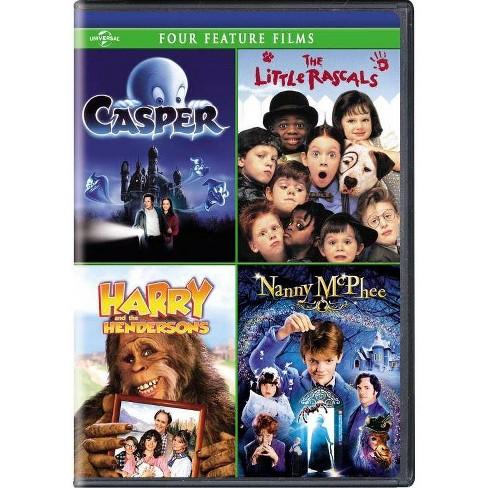 Casper / The Little Rascals / Harry & The Hendersons / Nanny McPhee (DVD) - image 1 of 1