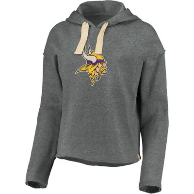 NFL Minnesota Vikings Women's Long Sleeve Fleece Hoodie
