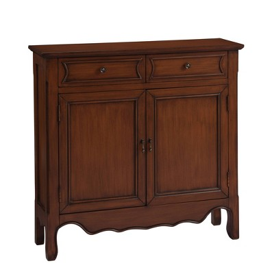 Bristol Traditional 2 Drawer and 2 Door Cabinet - Treasure Trove Accents