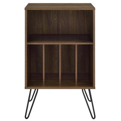 Concord Record Player Storage Stand Walnut - Novogratz