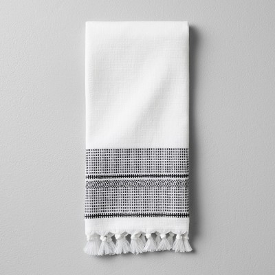 Hand Towel Boho Border - Ebony - Hearth & Hand™ with Magnolia