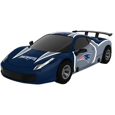 NFL New England Patriots Touchdown Racer Car