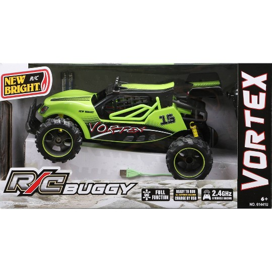 New Bright R/C FF Chargers Buggy - Green Vortex - 1:14 image number null