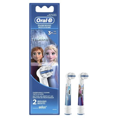 Oral-B Kids Extra Soft Replacement Brush Heads featuring Disney's Frozen - 2ct