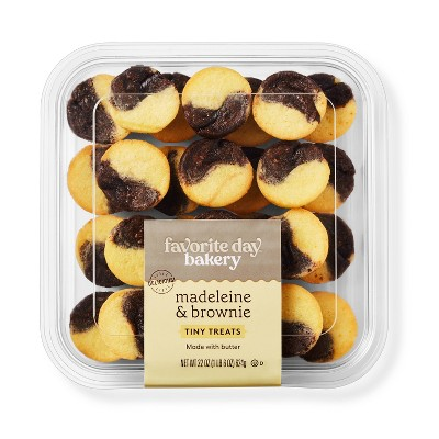 Madeleine and Brownie Tiny Treats - 22oz - Favorite Day™