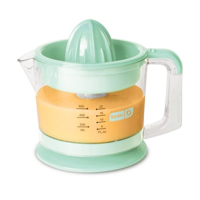 Dash electric Dual Citrus Juicer - Aqua