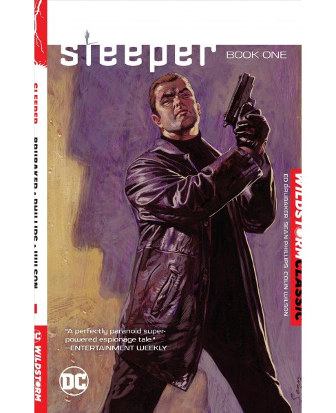 Sleeper 1 -  (Sleeper) by Ed Brubaker (Paperback) - image 1 of 1