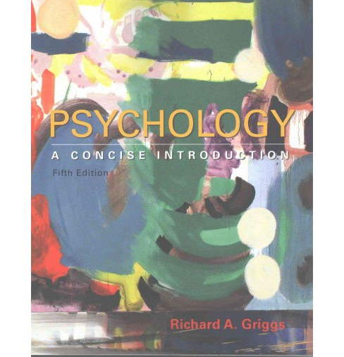 Psychology : A Concise Introduction (Paperback) (Richard A. Griggs) - image 1 of 1