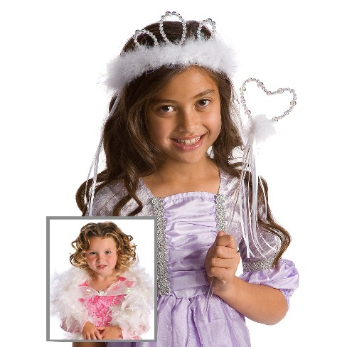 Little Adventures Wand, Tiara & Boa Set White - image 1 of 1