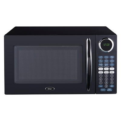 Oster 1.1 cu ft 1000W Microwave - Black OGCMB811BK-10