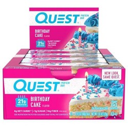 Quest Protein Bar - Birthday Cake - 12ct