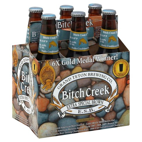 Grand Teton® Creek Extra Special Brown Ale - 6pk / 12oz Bottles - image 1 of 1