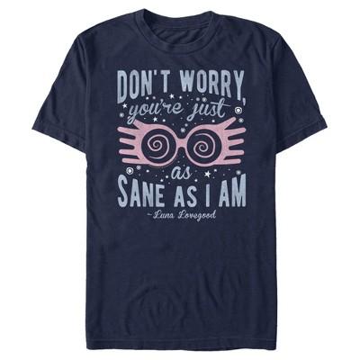 Men's Harry Potter Just As Sane As Luna Lovegood T-Shirt