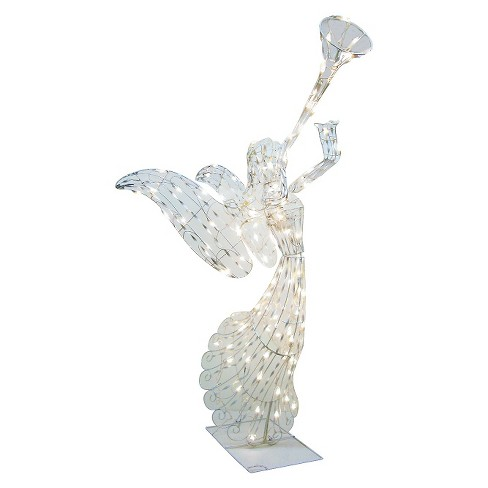 4' Lit Angel Sculpture - image 1 of 1