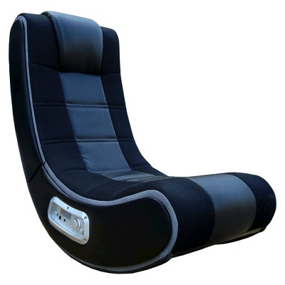 28 V Rocker Se Gaming Chair Black Gray X Rocker