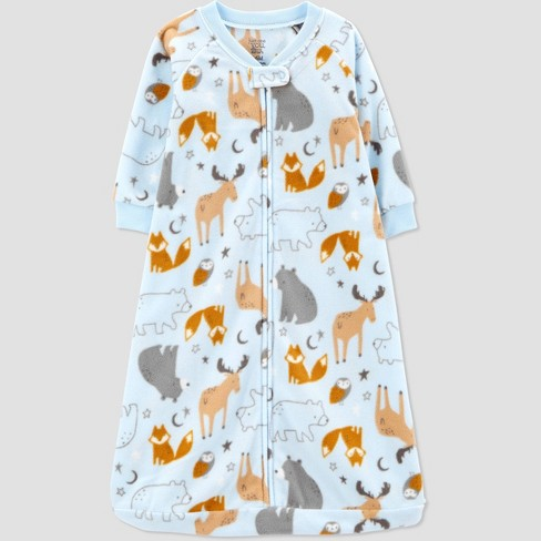Baby Boys' Animals Sleepbag Pajama - Just One You® made by carter's 3-6M - image 1 of 2