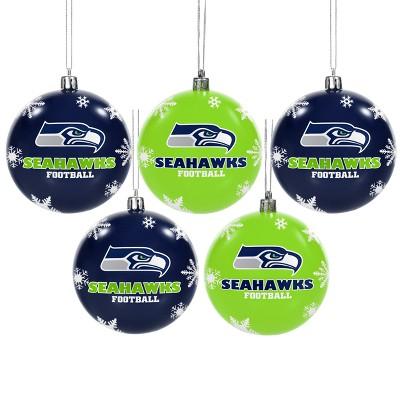 eda2d62a2ba NFL Pittsburgh Steelers Shatterproof Ball Ornaments 5pk   Target