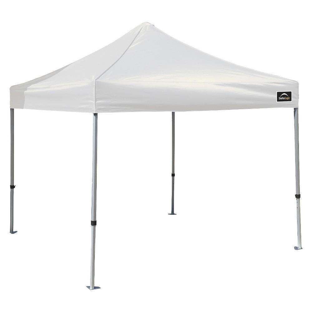 Shelter Logic 10' x 10' Alumi-Max Pop-Up Canopy - White