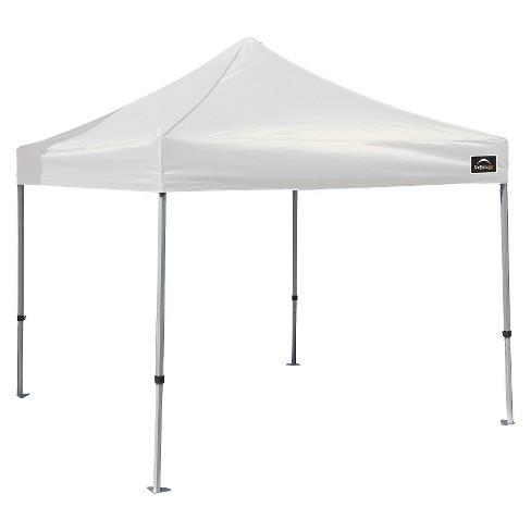 Shelter Logic  Alumi Max Pop Up Canopy White
