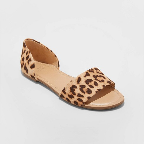 Women's Keira Two Piece Slide Sandals - A New Day™ - image 1 of 3